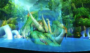 Ysera Dragon Form