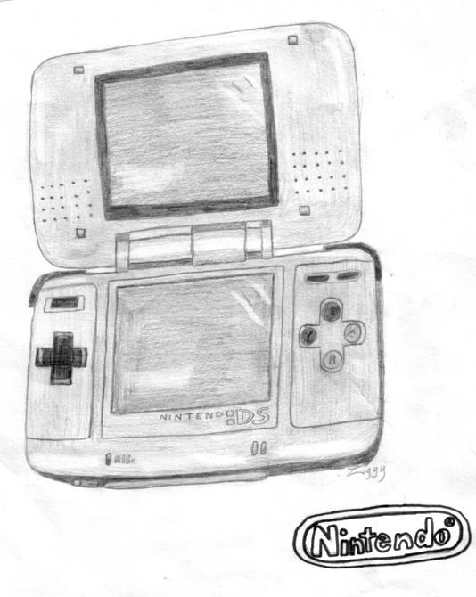 Nintendo DS Sketch by Ziggy161