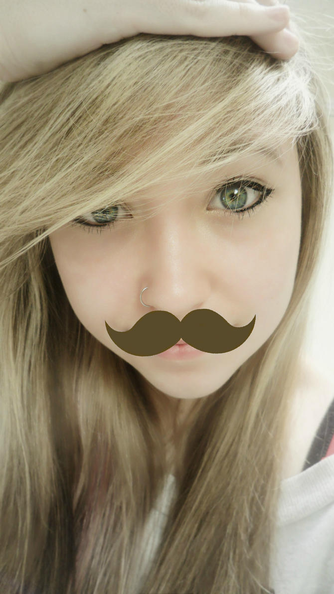 Moustache. by MiissShameless