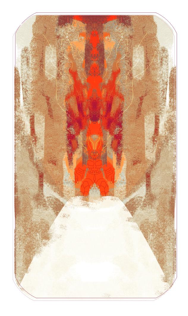 Elemental Postcard - Fire by BSMaria