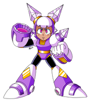 Character Concept: Synth (megaman SD) by NeoMan95
