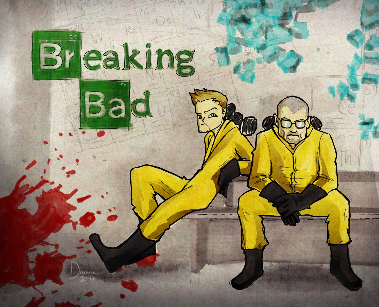 cybergata breaking bad fan art
