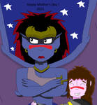 Happy Mother's Day 2021 from Gargoyles by SurgeAventura