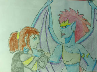 Sid and Demona *the promise of impossible* by SurgeAventura