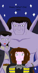 Happy Father's Day 2021 From Gargoyles by SurgeAventura
