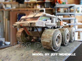 Finished Moon truck kit by srspicer