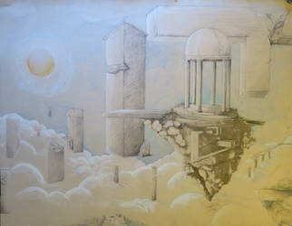 Castle in the Sky by Zemie