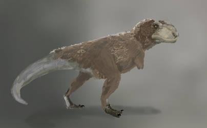 T. rex by Zemie