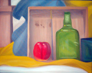 still life 2: apple of my eye by moonqueen