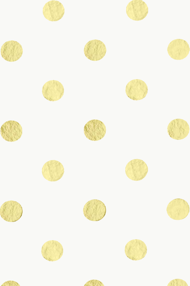 goldcream polka dot iphone wallpaper by elizabethmaryy on