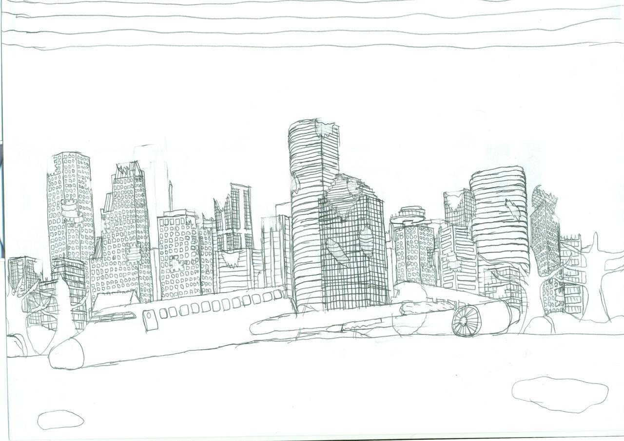 Houston Post Apocalyptic by Death-Ark on DeviantArt