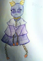 The Violet Vort by WitchyArtistGal