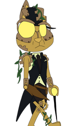 Steampunk Rabbit by WitchyArtistGal