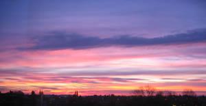 Sunset on Waremme by Zazou8