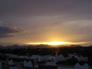 Lanzarote 2009 - Sunset
