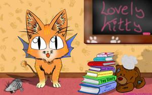 What a lovely Kitty Orange by Zazou8
