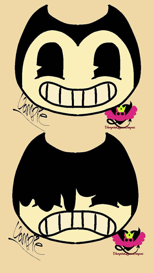 Just Drawin Bendy by VampireQueenSenpai