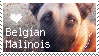Belgian Malinois Stamp by SinMisericordia21
