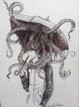 Umbrella-octopus
