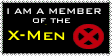 X-Men Stamp by BobTheEgg
