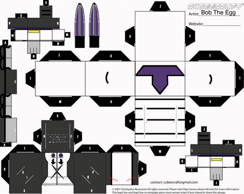 Purple Secret Cubee
