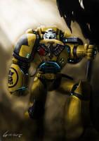 Imperial Fist by sarroz