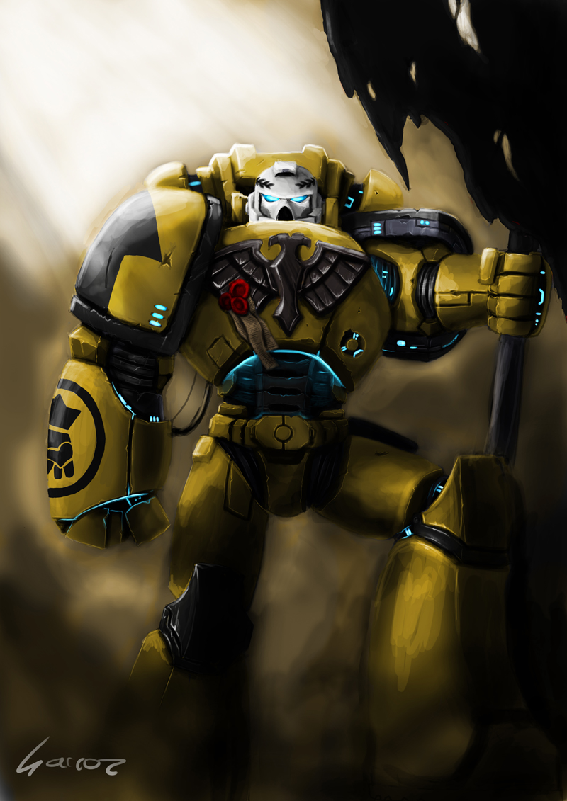 Imperial Fist by sarroz