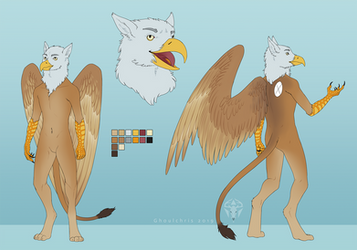 CM - Galaxy Gryphon by ghoulchris