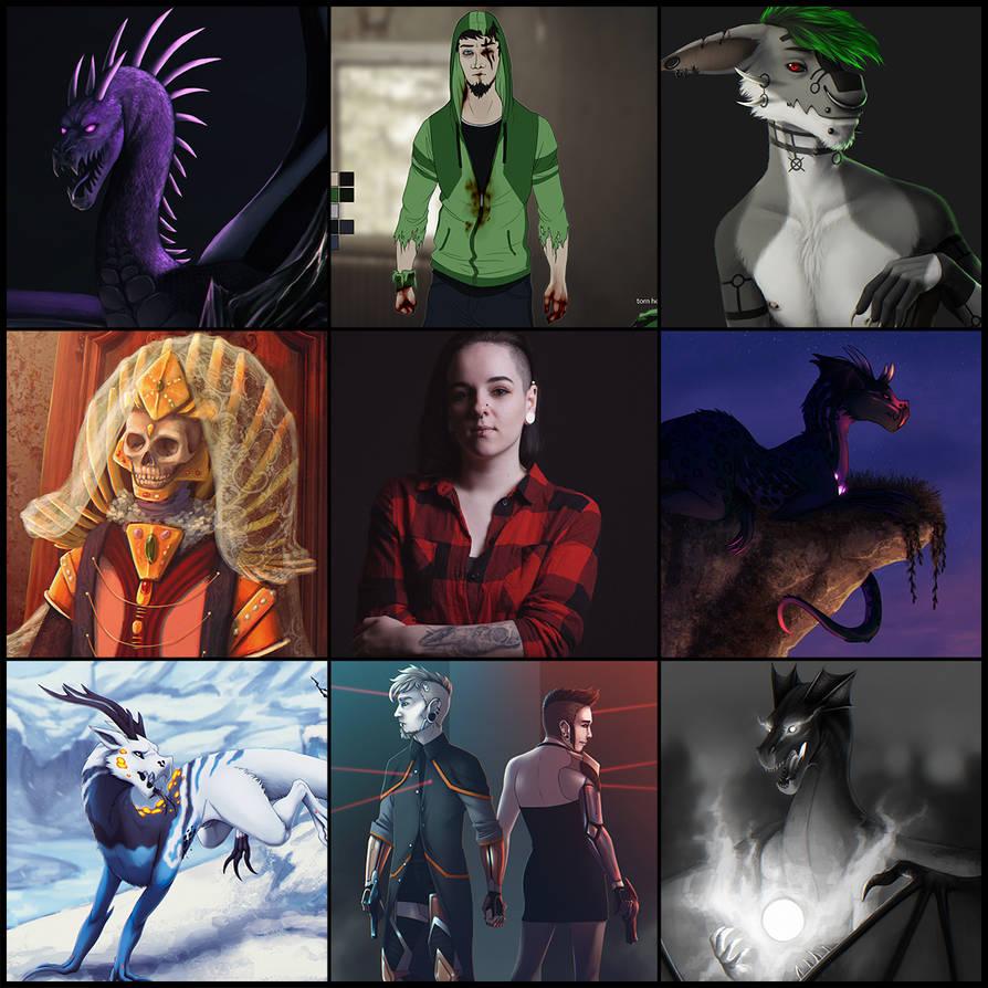 Art VS Artist 2019 by ghoulchris