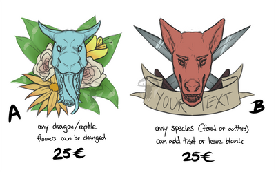 Multislot YCHs [open] by ghoulchris