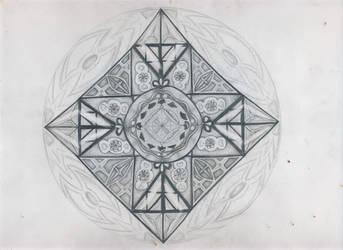 Mandala by ScorpionFlower24