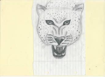 Snow Leopard by ScorpionFlower24