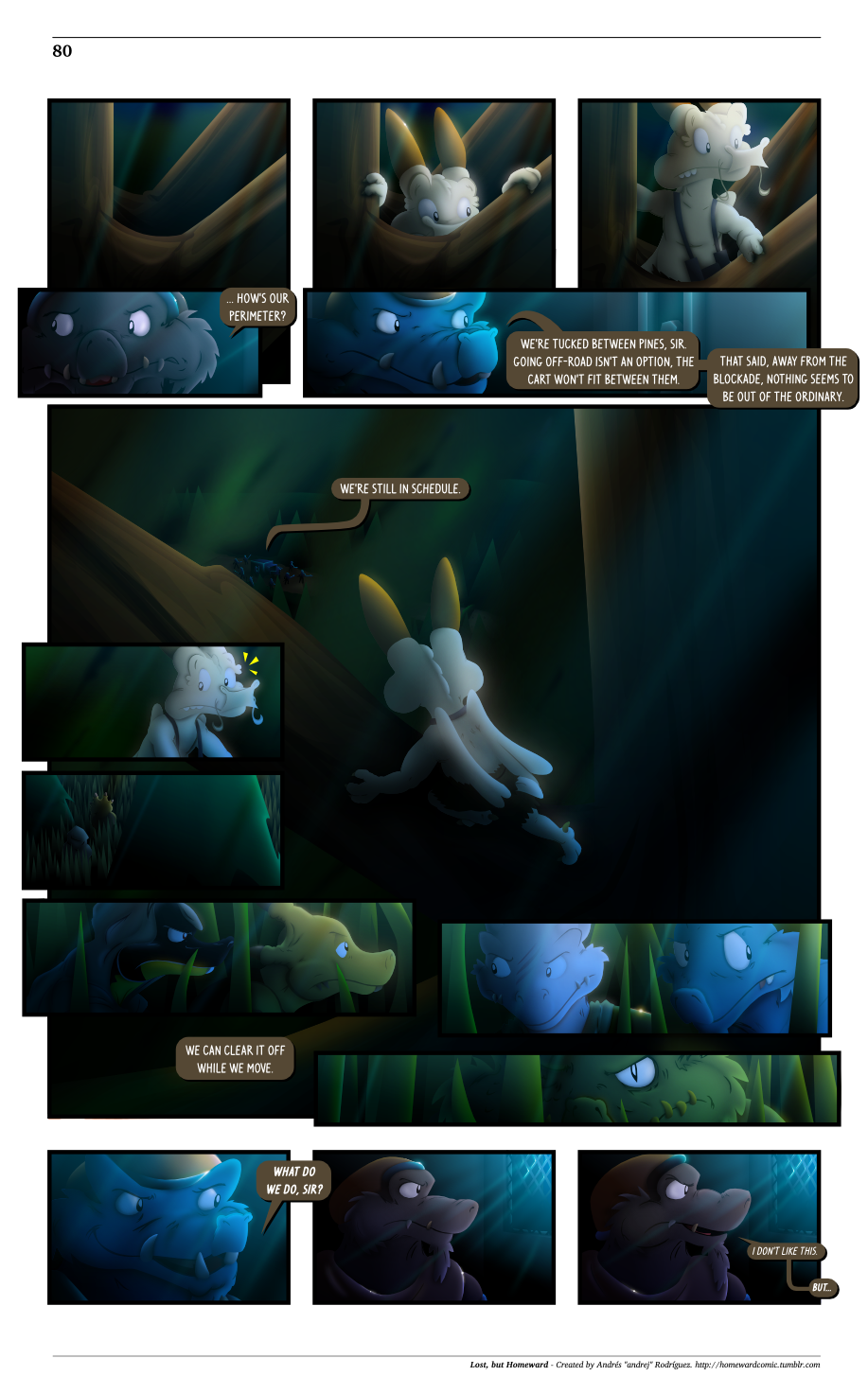 Lost, but Homeward - Page 80 by OhNoAndrej