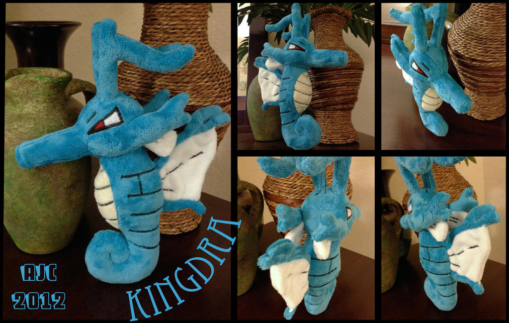 Kingdra by LeluDallas