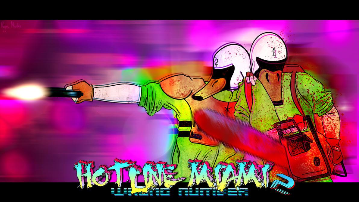Hotline Miami 2 Wallpaper by ArtmanDraweth on DeviantArt