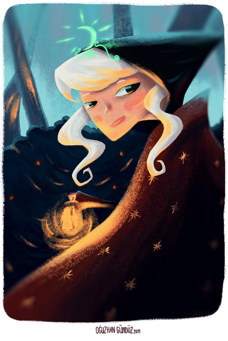 witch in the woods by OguzhanGunduz