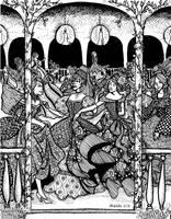 The Twelve Dancing Princesses by Ithelda