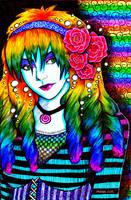 Rainbow Hair by Ithelda