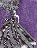 Checkerboard Dress by Ithelda