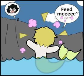 Mer!Oz demands food by Bayleef-
