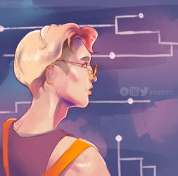 Space mechanic Yixing by JungTaco