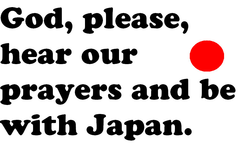 God, please be with Japan by xg1