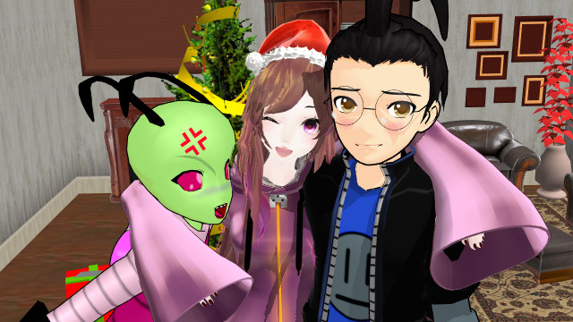 mmd - invader zim -Merry Chritsmas!!!! by serenaross
