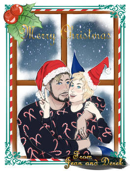 :commission: Christmas Couple