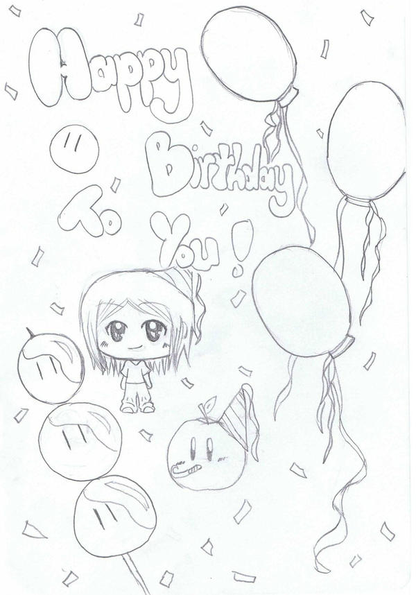 happy b-day by HAPPLES-XD