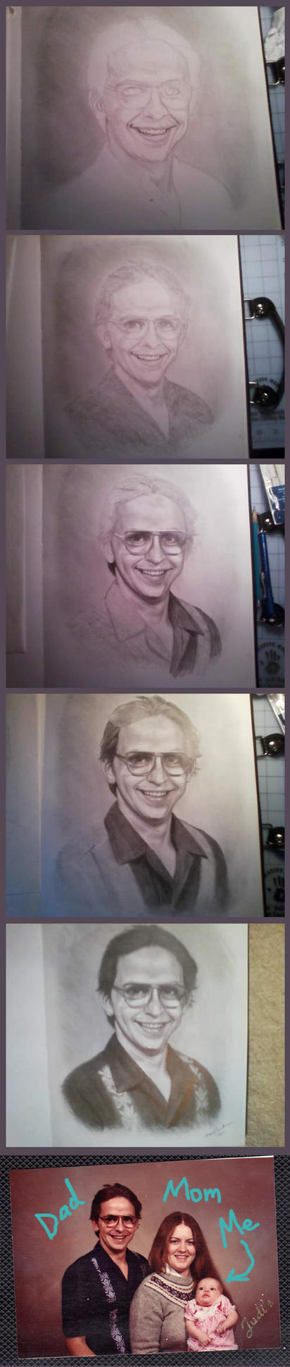 Realism Drawing Step By Step by angelvi