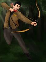 Katniss Everdong by kenzi283