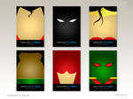 Minimalist DC Heroes