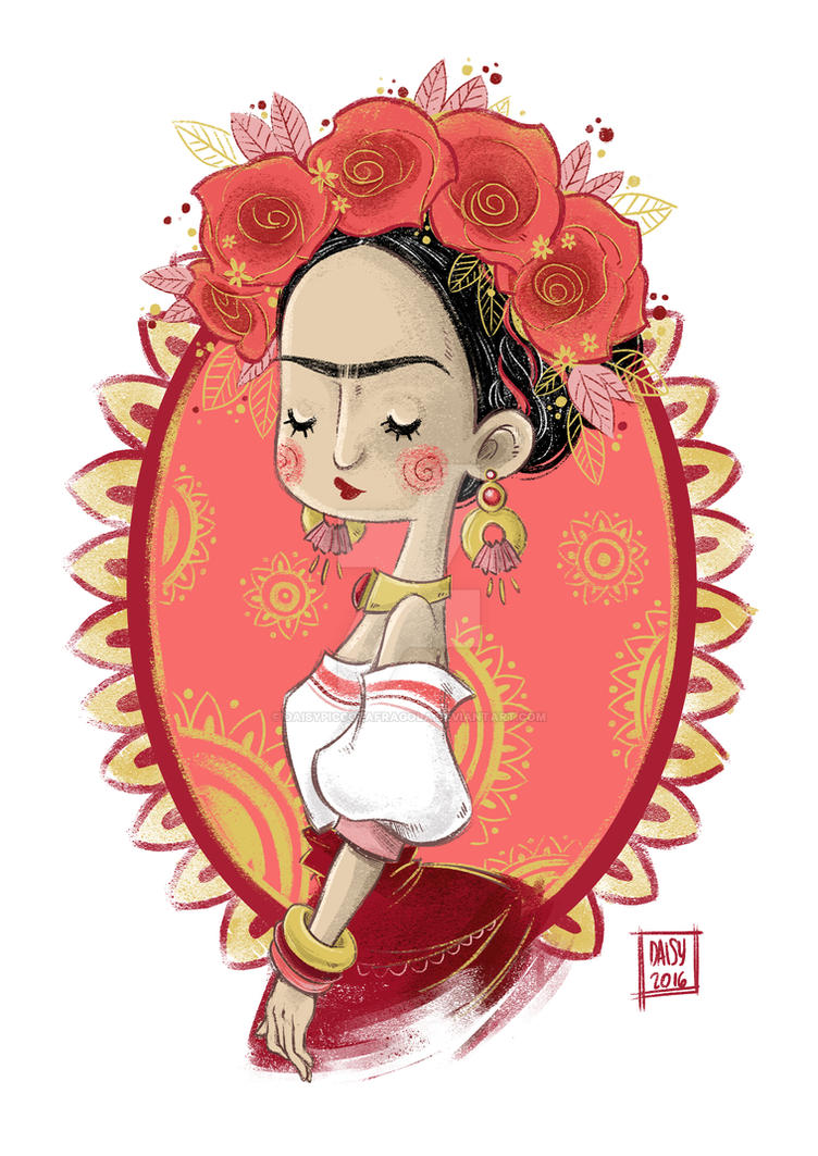 Frida Kahlo by DaisyPiccolaFragola