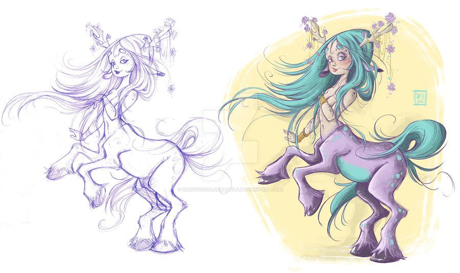 Centaura by DaisyPiccolaFragola